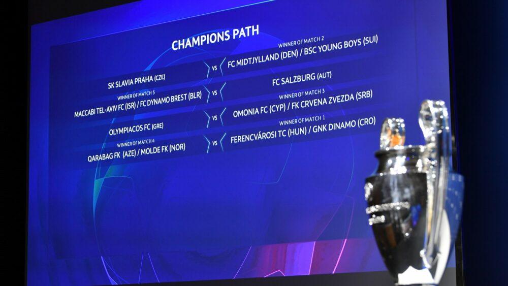Estes são os confrontos dos playoffs da Champions League 2020/21