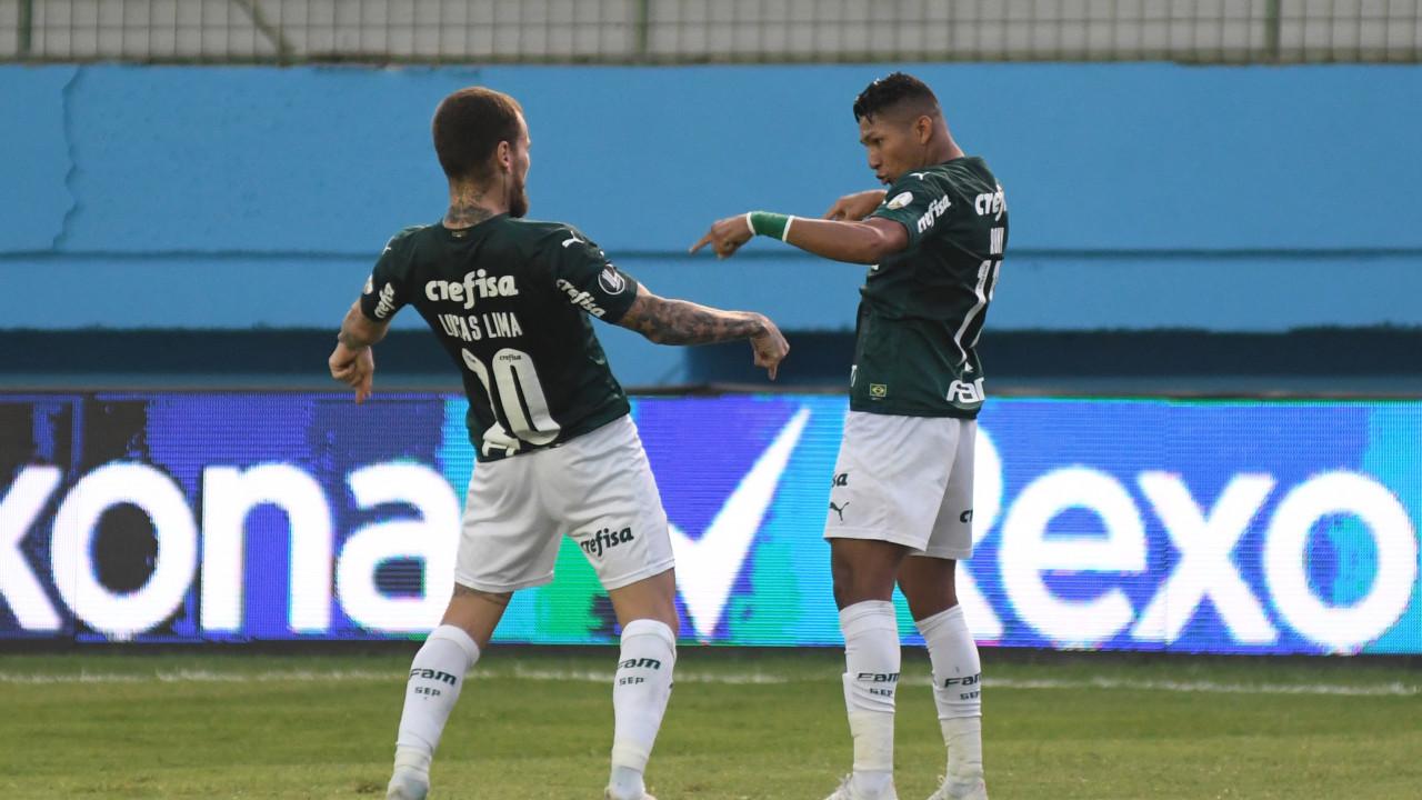 Rony arrebentou, e o Palmeiras abriu uma boa vantagem nas oitavas de final   Trivela