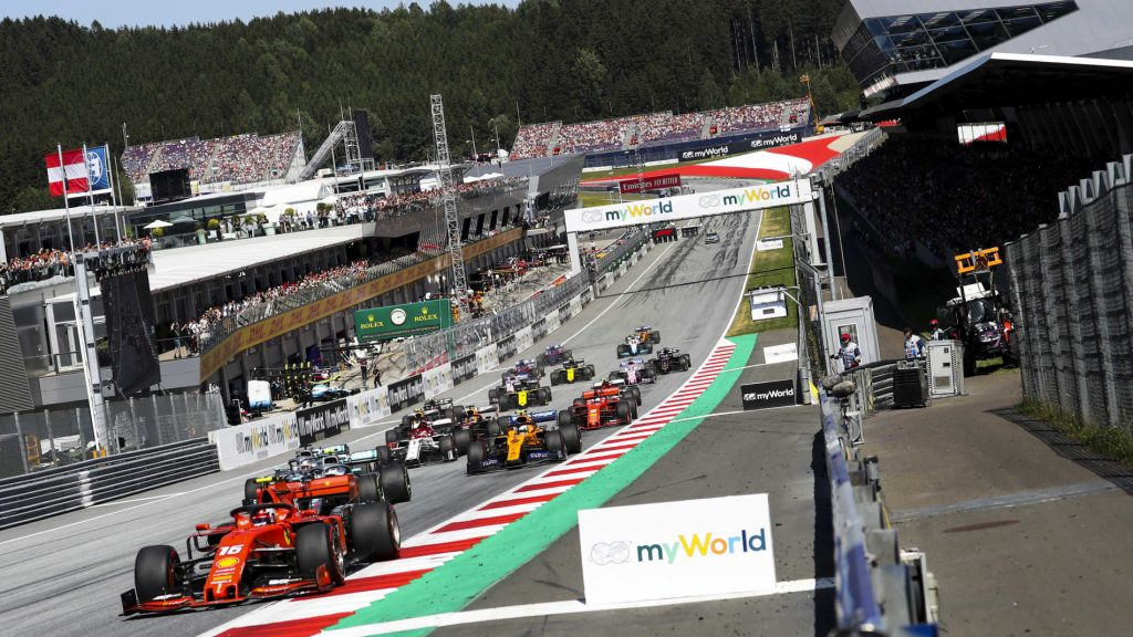F1 2019 ÁUSTRIA RED BULL RING