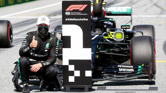 Valtteri Bottas, pole GP da Áustria 2020