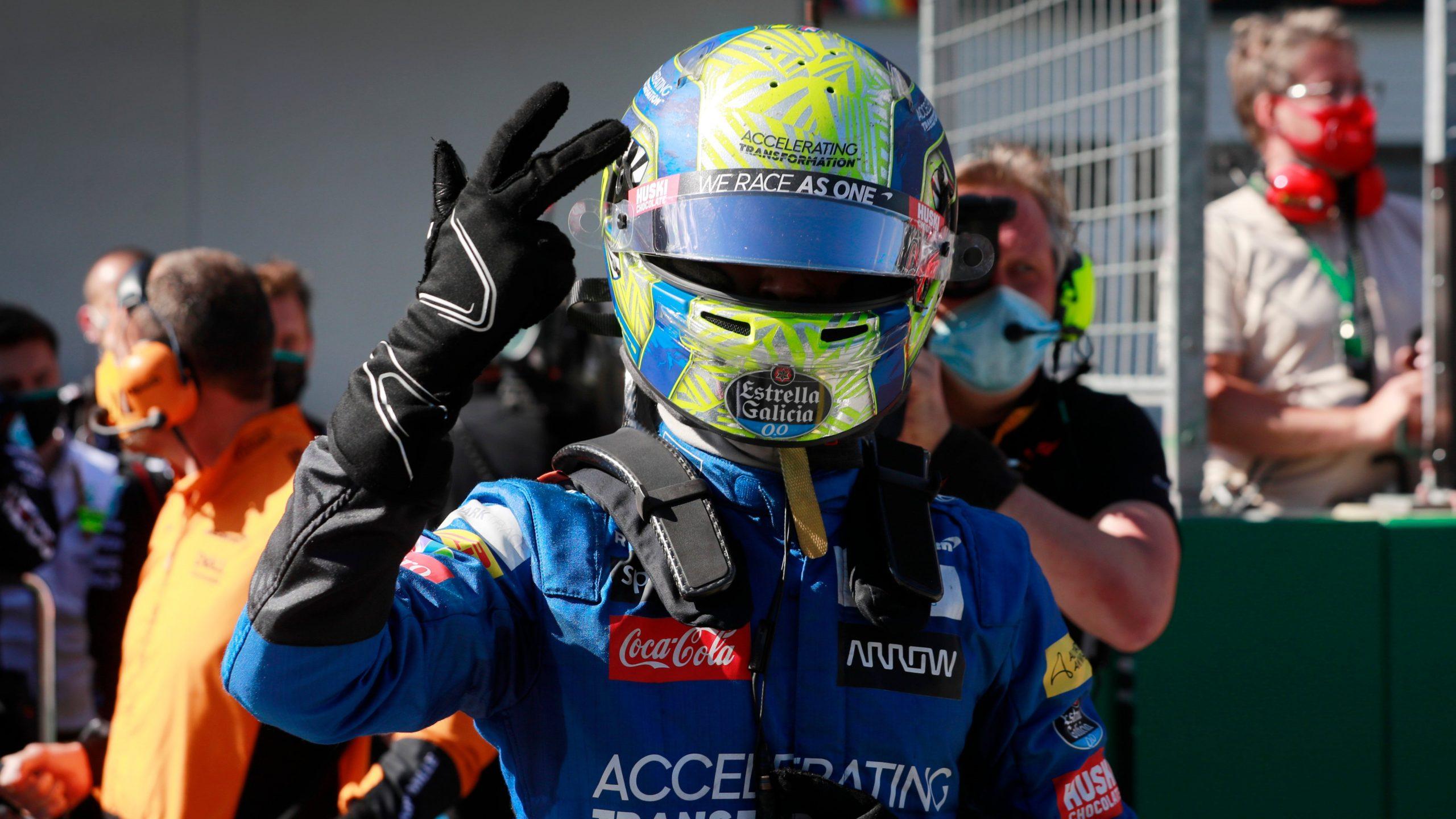 GP da Áustria 2020, Lando Norris,
