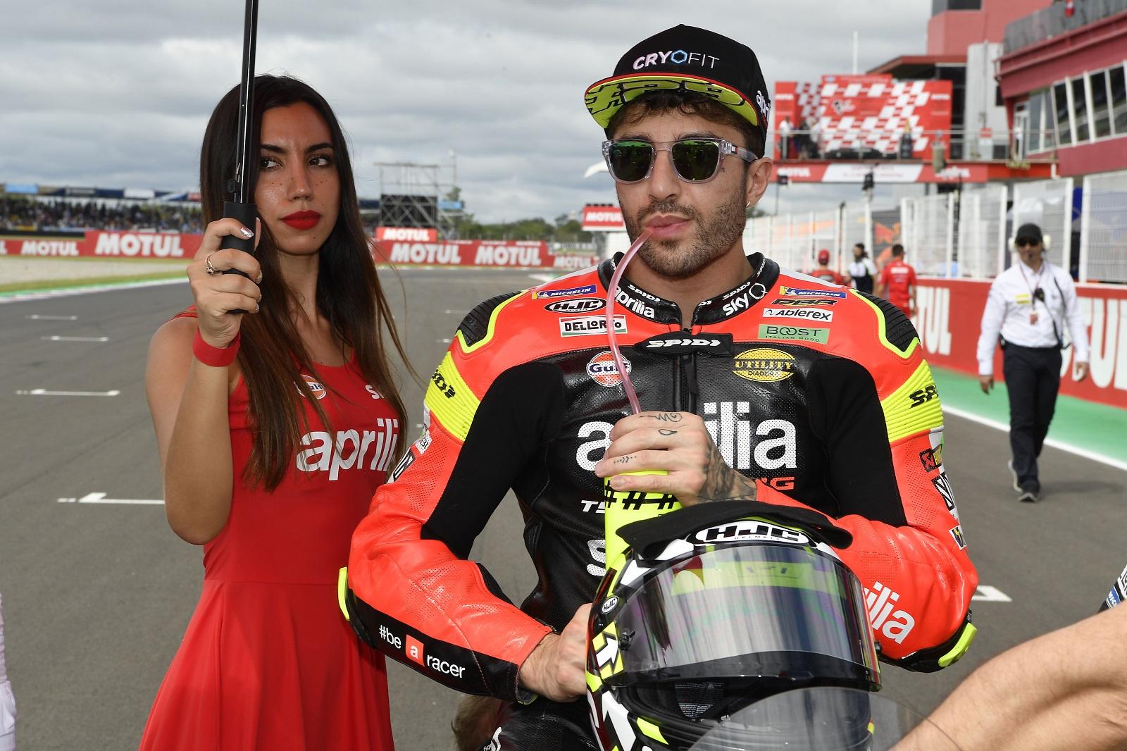 MotoGP 2019 Argentina Termas de Río Hondo Aprilia Andrea Iannone
