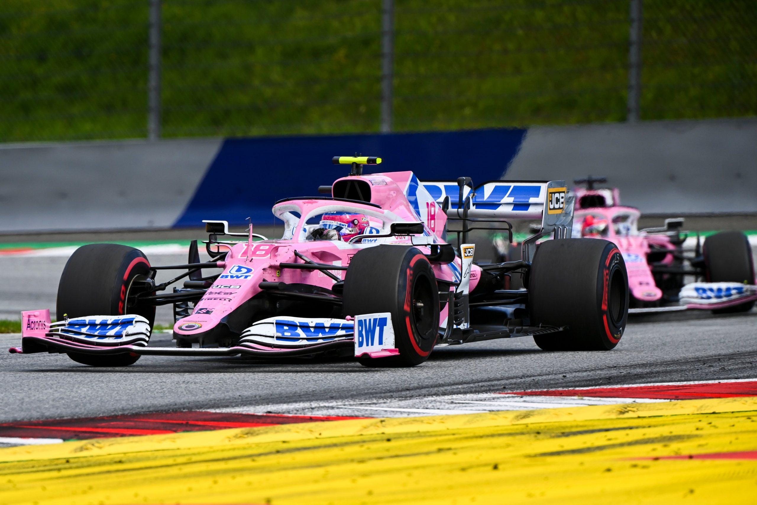Racing Point, GP da Hungria 2020, Lance Stroll