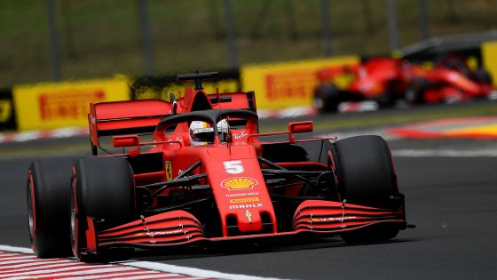 Ferrari, GP da Hungria 2020, Vettel,
