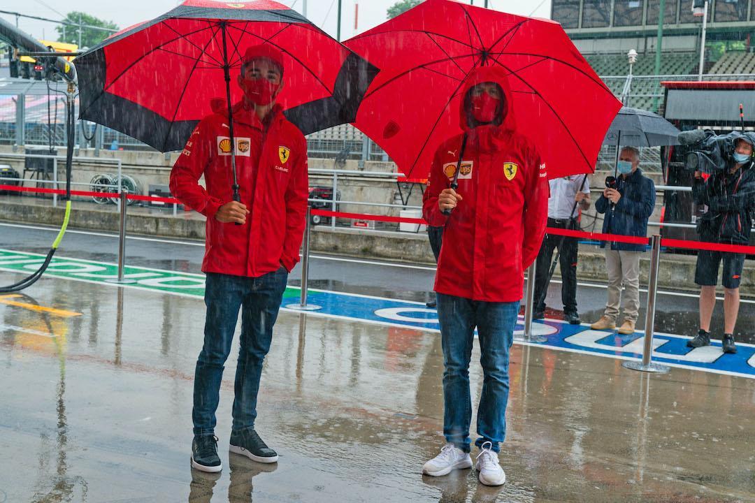 Vettel, Leclerc, GP da Hungria 2020