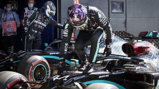 Lewis Hamilton, Mercedes, GP da Inglaterra 2020