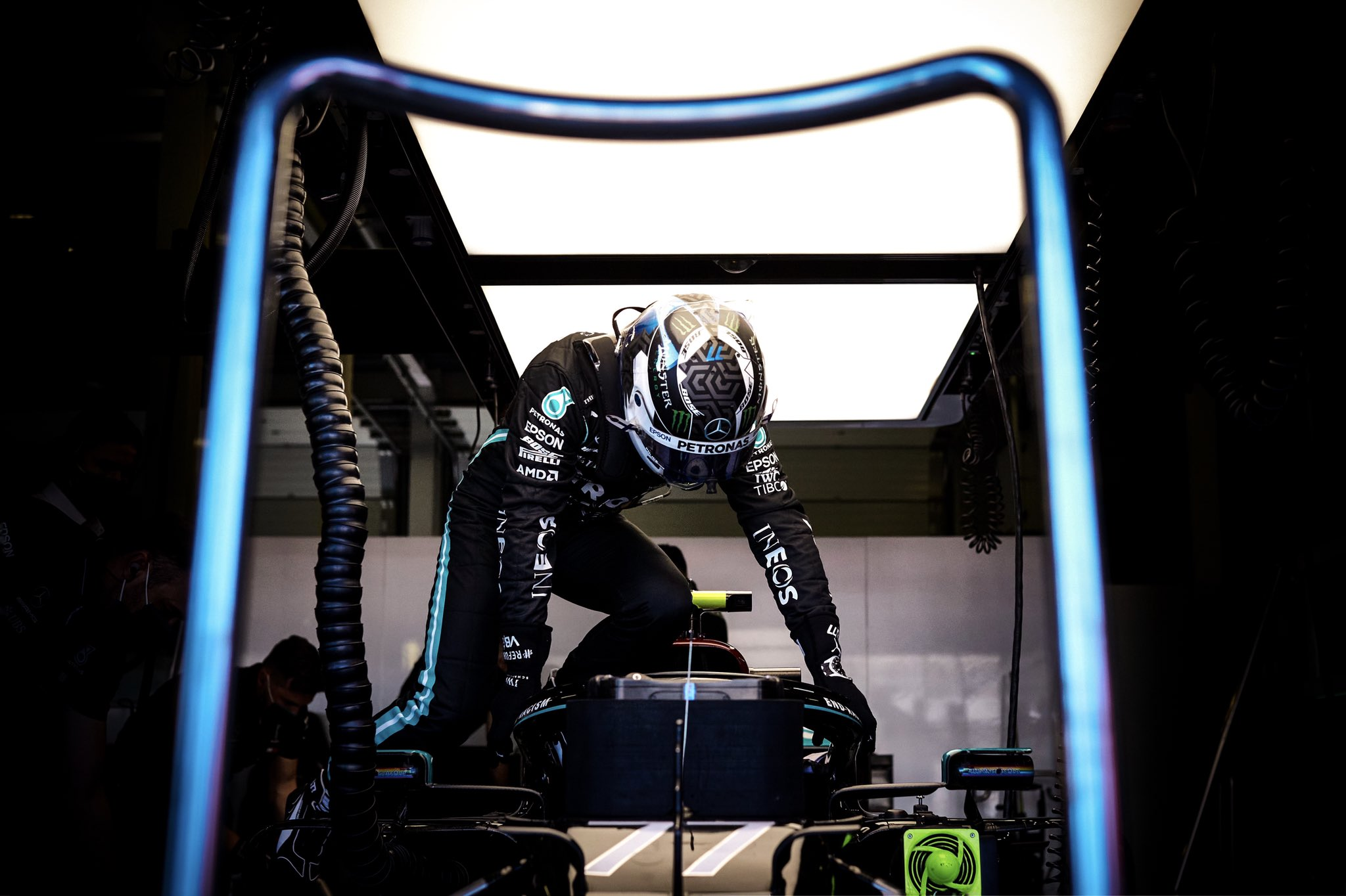 Valtteri Bottas, Mercedes, GP da Espanha 2020,