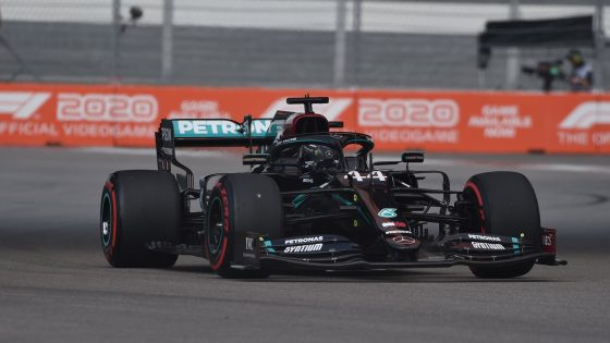 Lewis Hamilton, Mercedes, GP da Rússia 2020