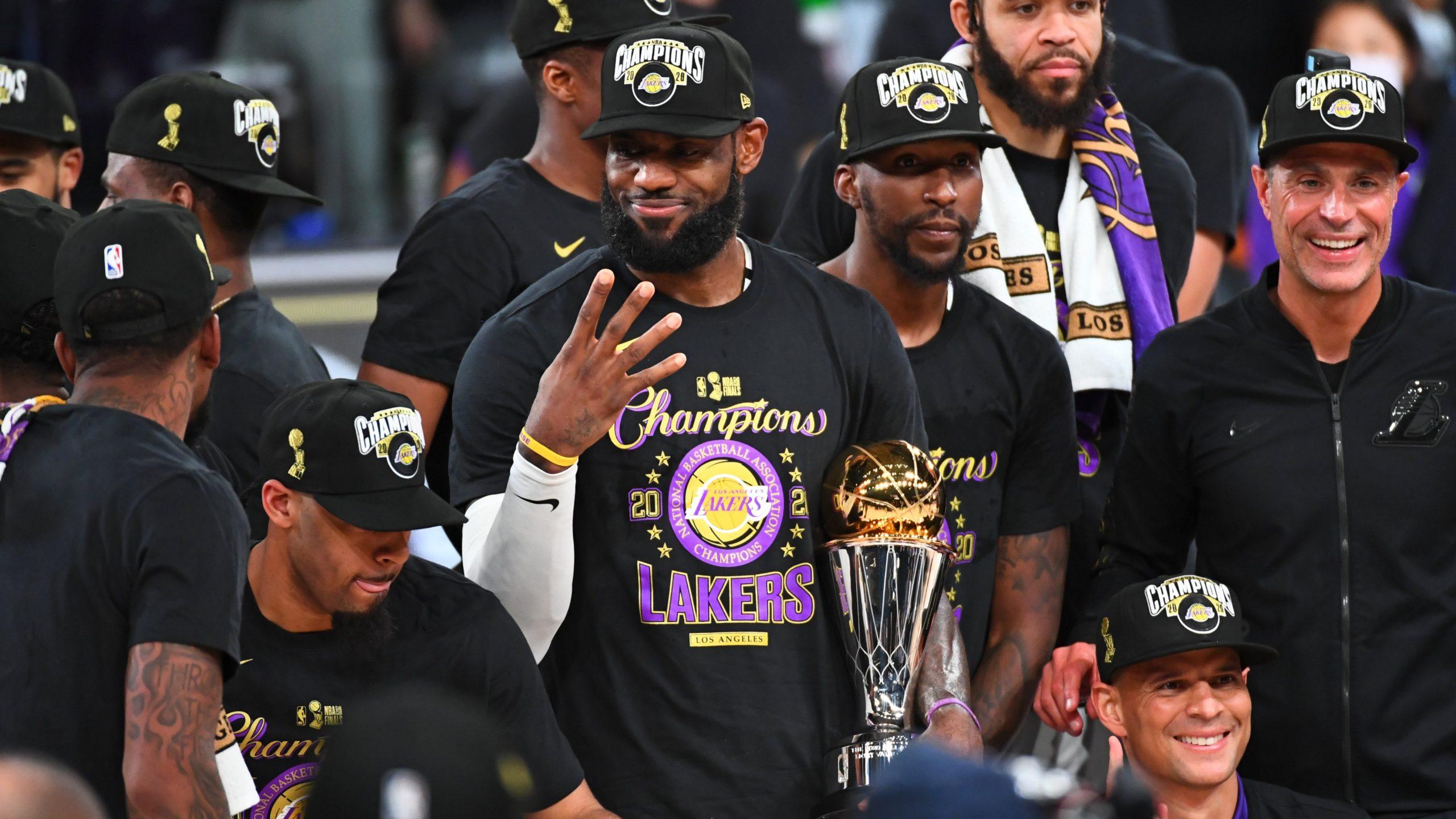 LeBron James, NBA Finals 2020,