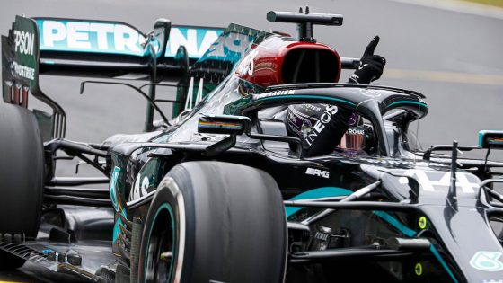 Lewis Hamilton, Mercedes, GP de Portugal 2020,