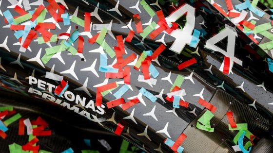 Mercedes, 7º título Construtores, GP da Emília-Romanha 2020,