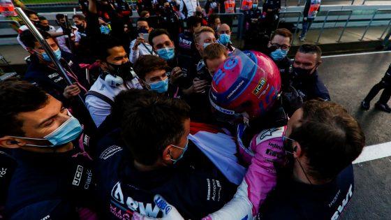 Lance Stroll, pole, GP da Turquia 2020,