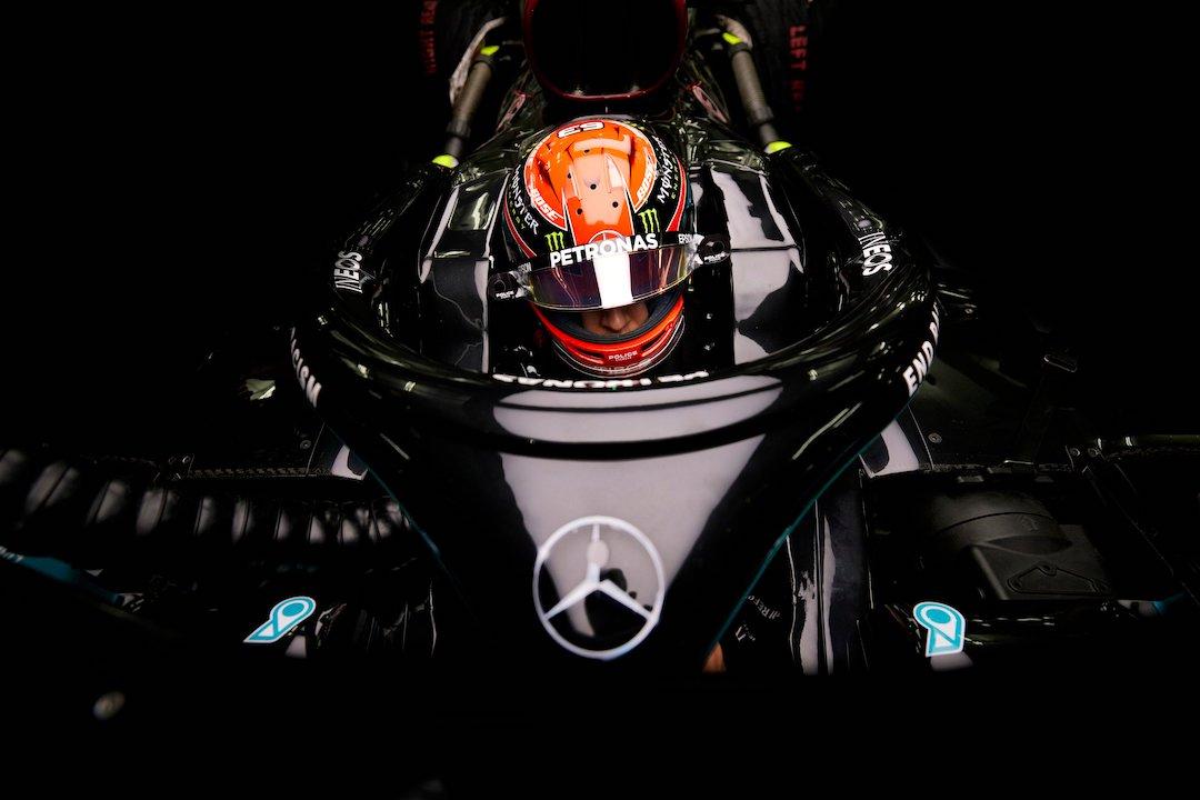George Russell, Mercedes, GP de Sakhir 2020,