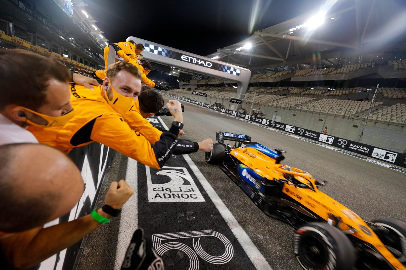 McLaren, GP de Abu Dhabi 2020, Carlos Sainz Jr,