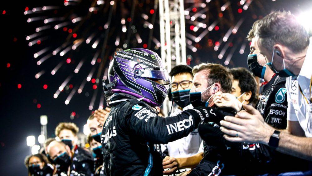 Lewis Hamilton, GP do Baherein 2021, Mercedes