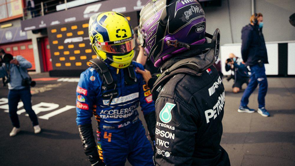 Lando Norris, Lewis Hamilton, GP da Emilia-Romanha 2021,