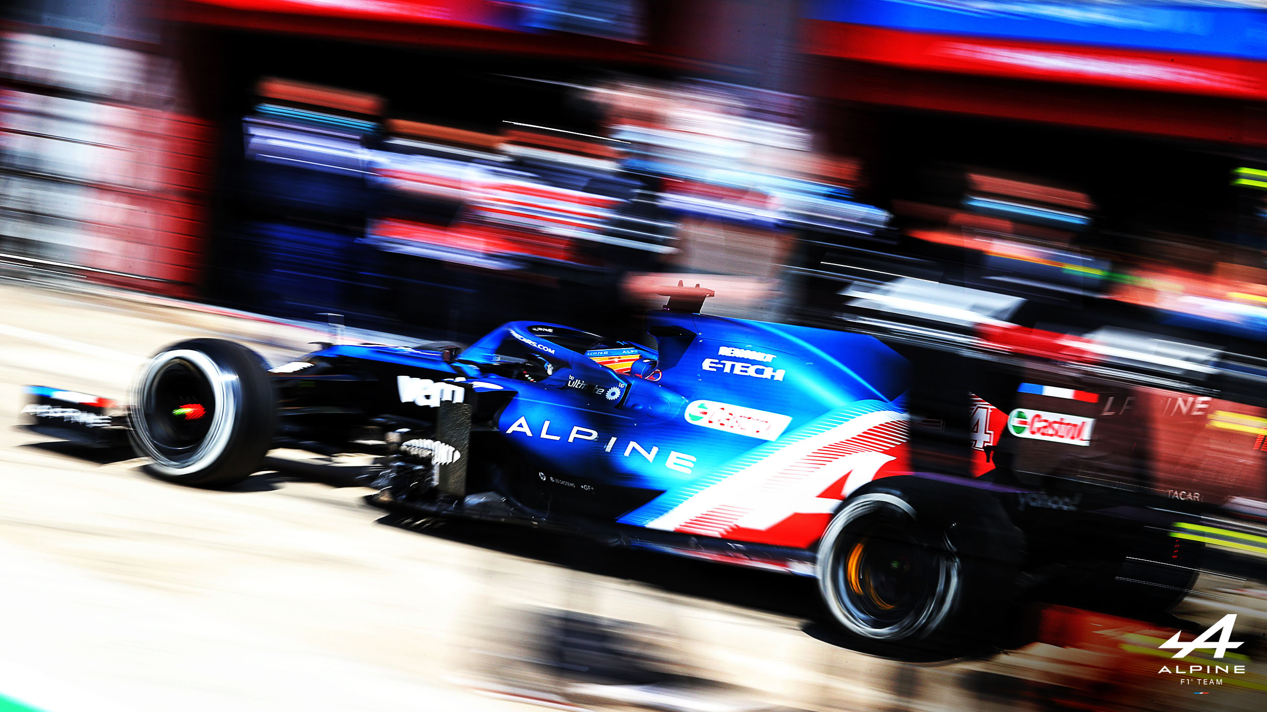 Fernando Alonso, Alpine, GP de Portugal 2021,