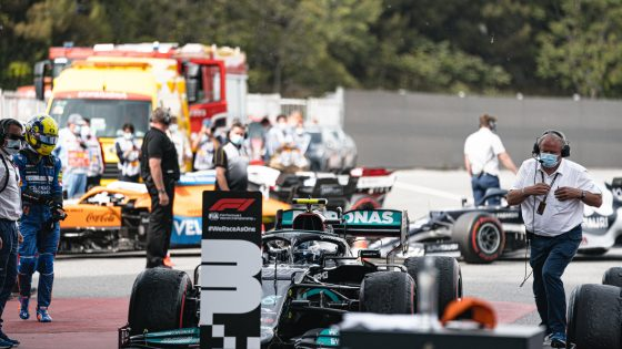 Valtteri Bottas, Mercedes, GP da Espanha 2021,