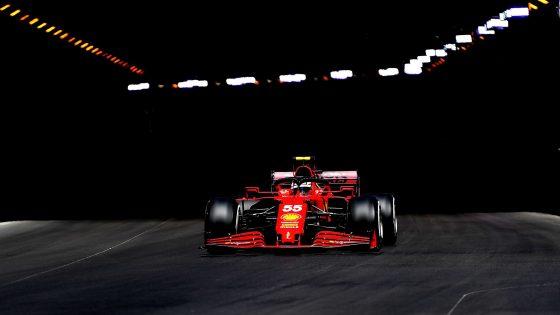 GP de Mônaco 2021, Carlos Sainz, Ferrari