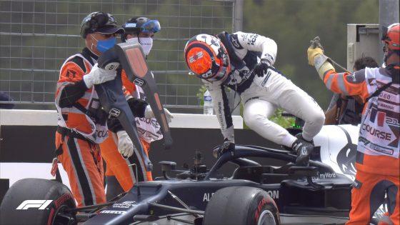 Yuki Tsunoda, AlphaTauri, GP da França 2021,