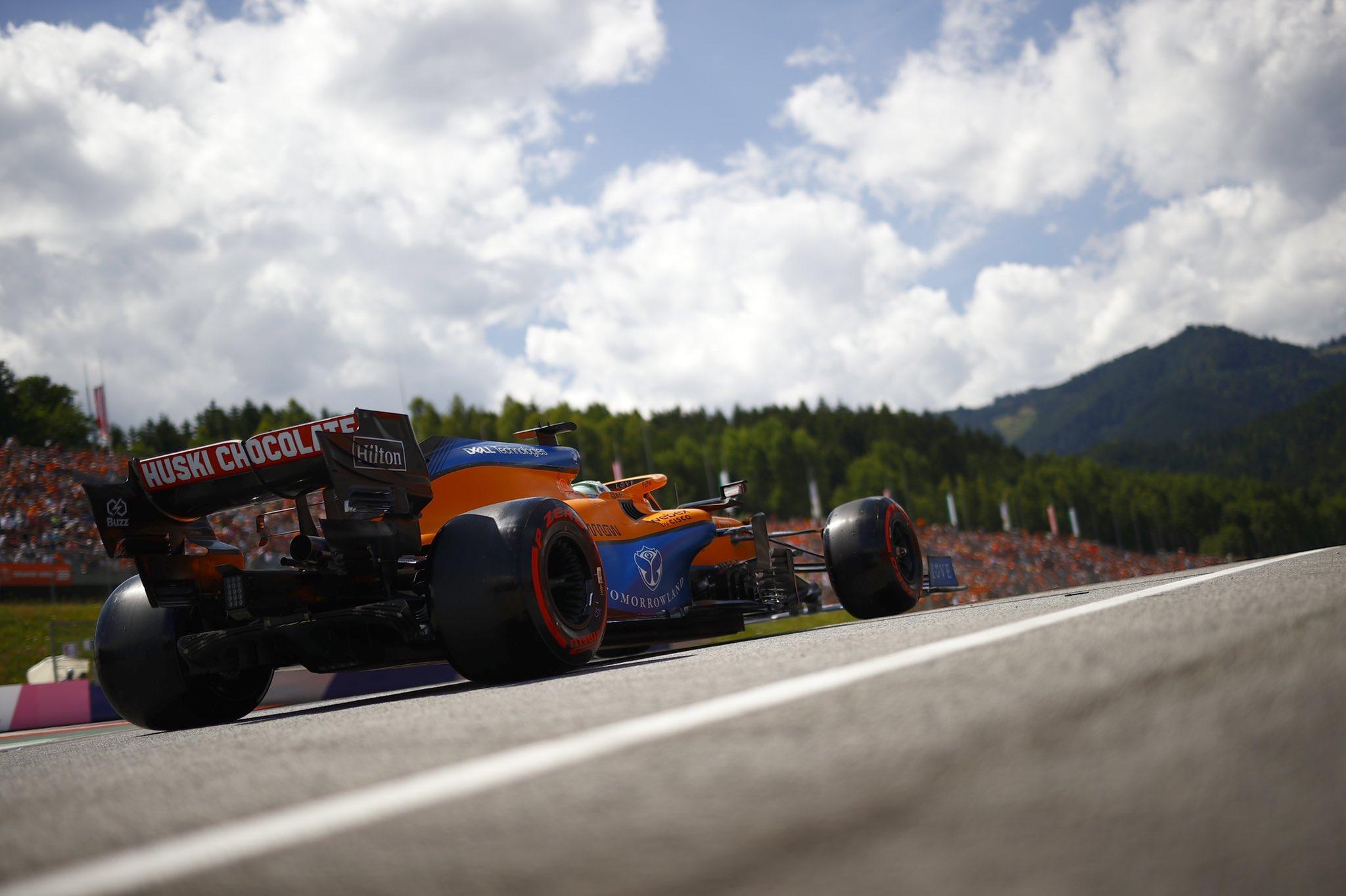 Daniel Ricciardo, McLaren, GP da Áustria 2021,