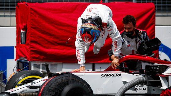 Kimi Räikkönen, Alfa Romeo, GP da Áustria 2021,
