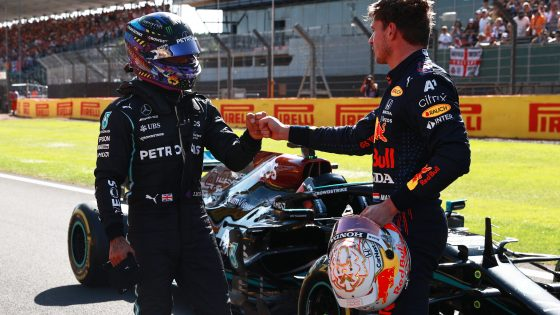 Hamilton, Verstappen,
