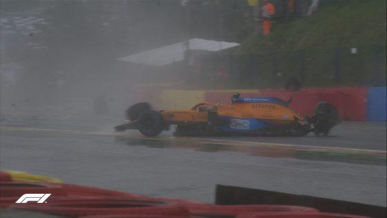 Lando Norris, McLaren, GP da Bélgica 2021, Eau Rouge,