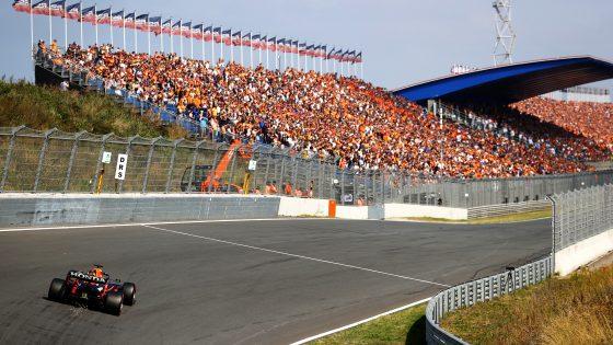 Max Verstappen, GP da Holanda 2021, curva Arie Luyendyk,