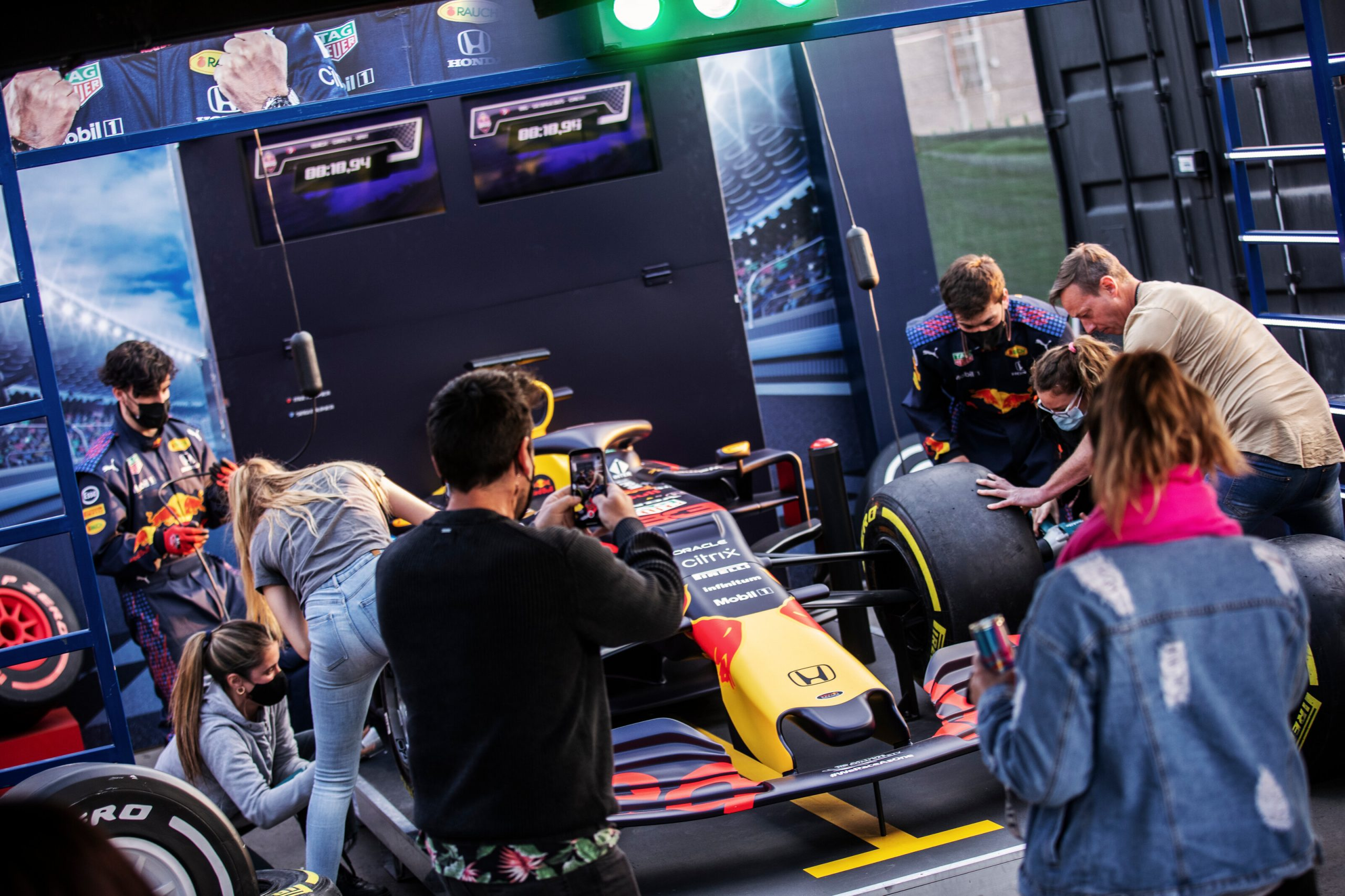 pit stop challenge red bull