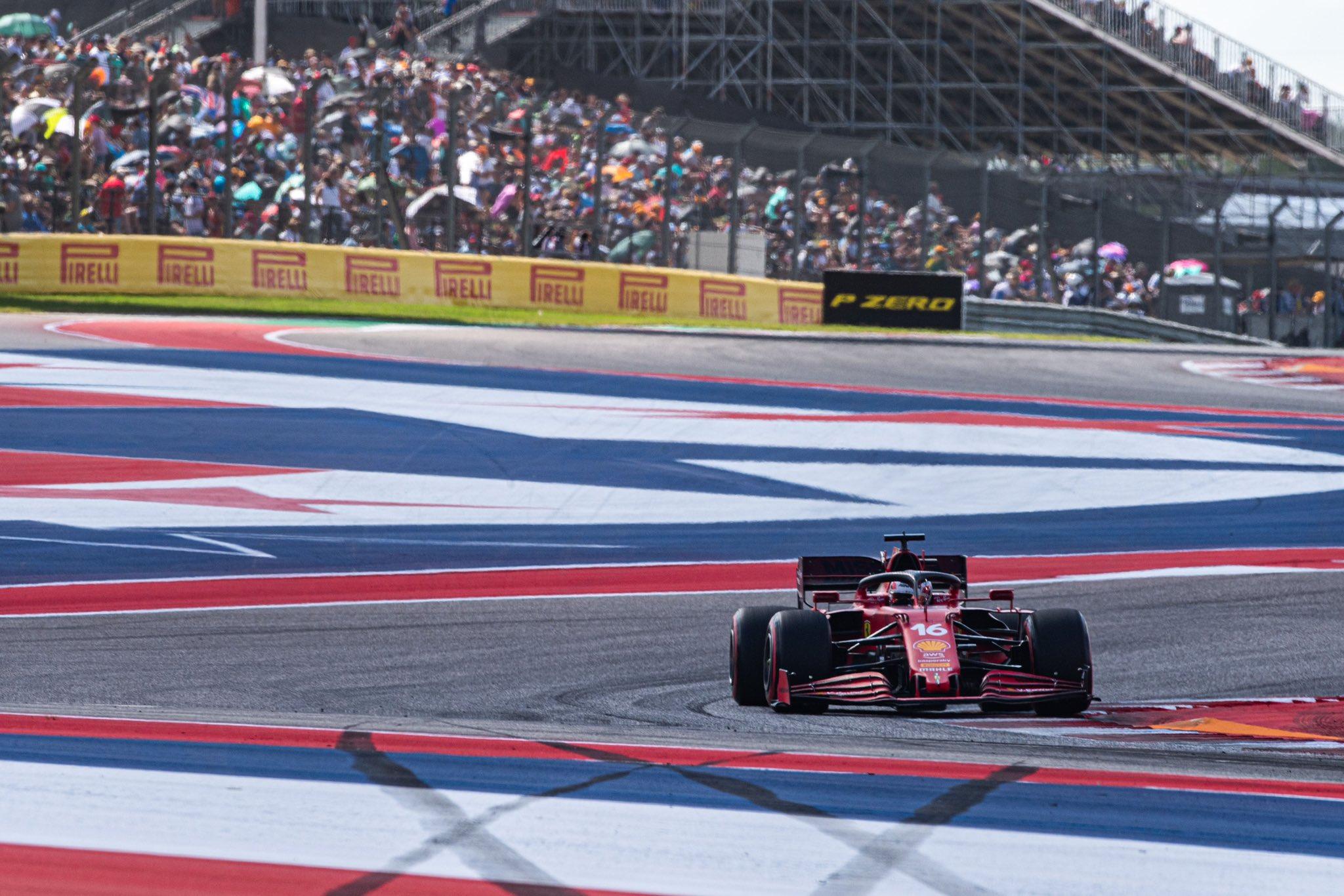 Charles Leclerc, GP dos EUA 2021,